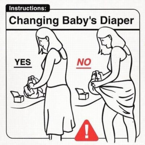 changing-babys-diaper-funny