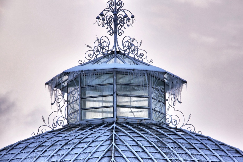 Icicles on dome