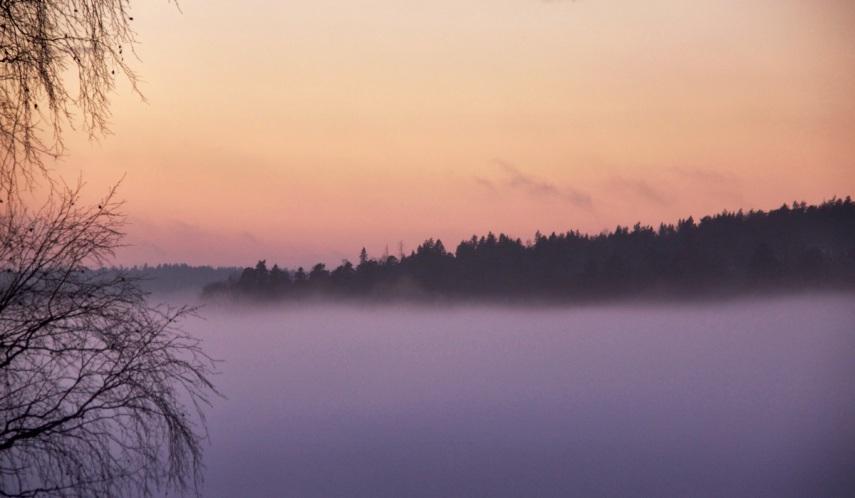 Mist rising 2