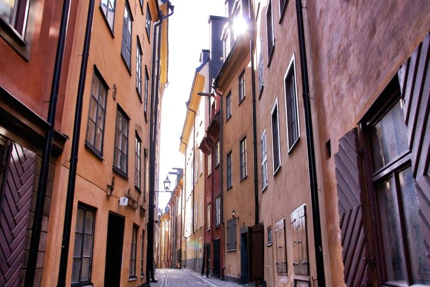 Street with sun copy
