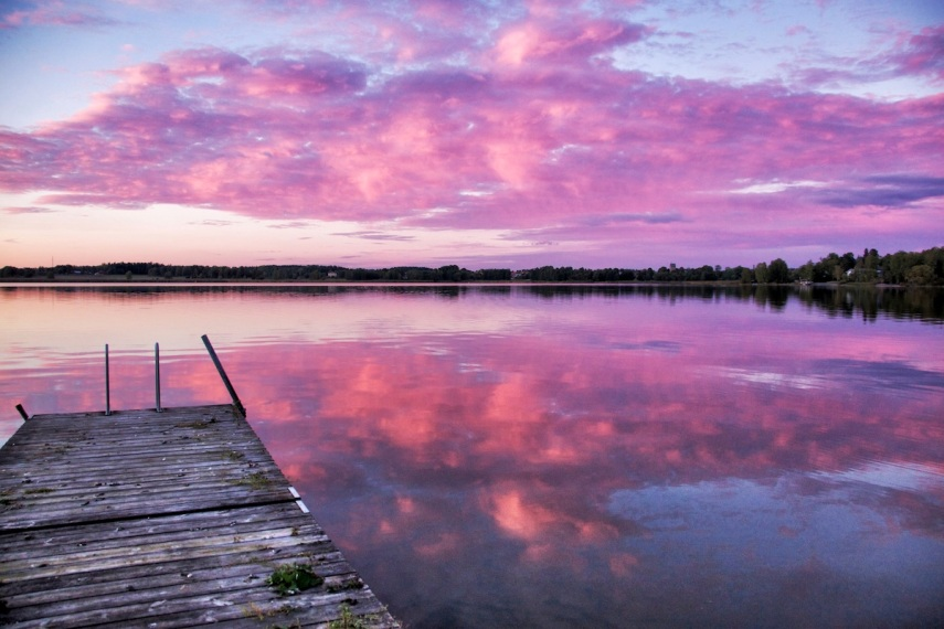 Clouds-pink