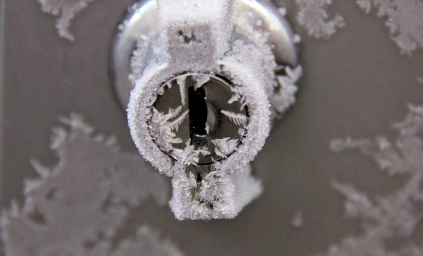 Frosted lock