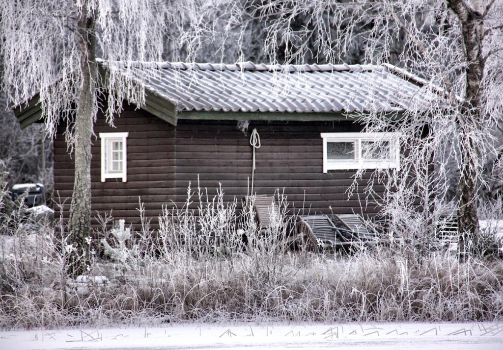 Little boat house