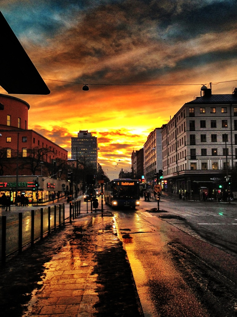 Urban sunset_2