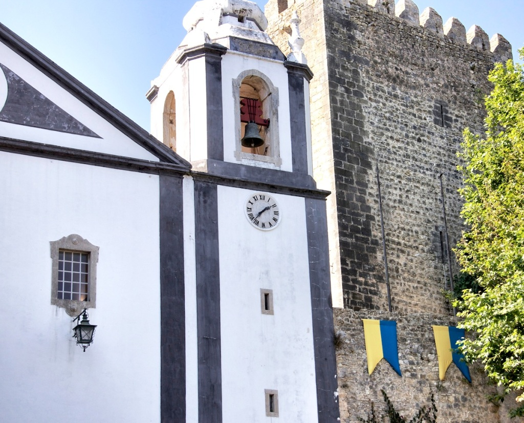 Church and wall